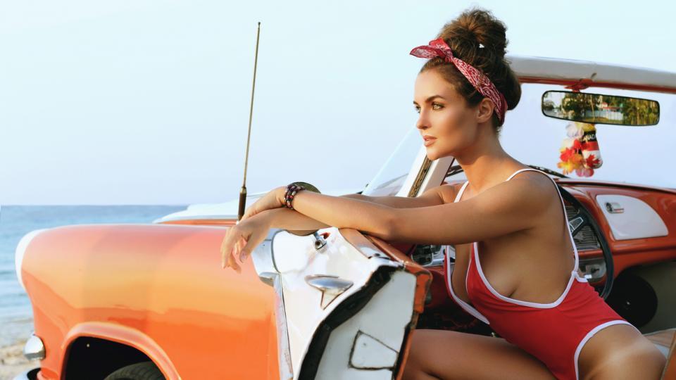 бански лято жена