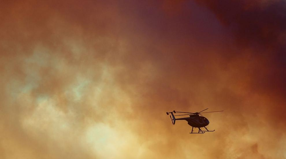 Самолети и хеликоптери се включват в борбата срещу огнената стихия в Сибир