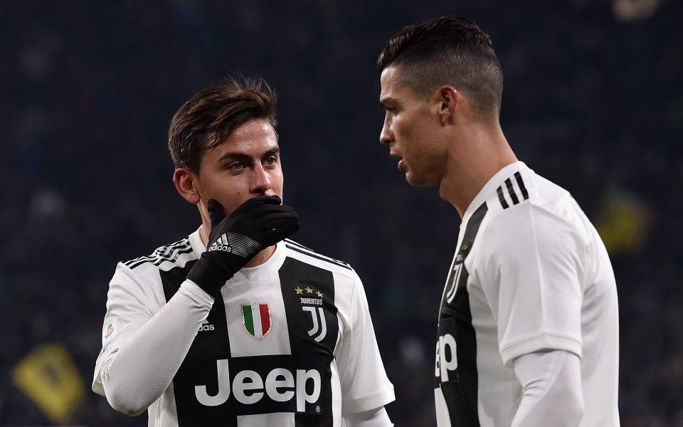 Роналдо е свикнал да получава критики, заяви Дибала