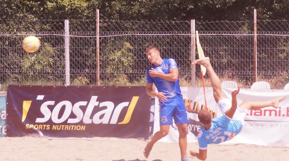 Русе приема последните два кръга от редовния сезон в плажния футбол