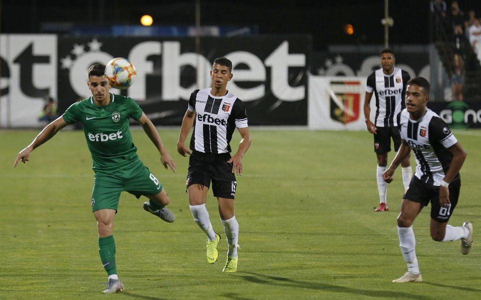 Представителният отбор на Локомотив Пловдив гостува на Лудогорецв мач от