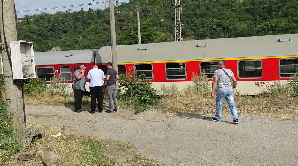 Катастрофа между влак и камион