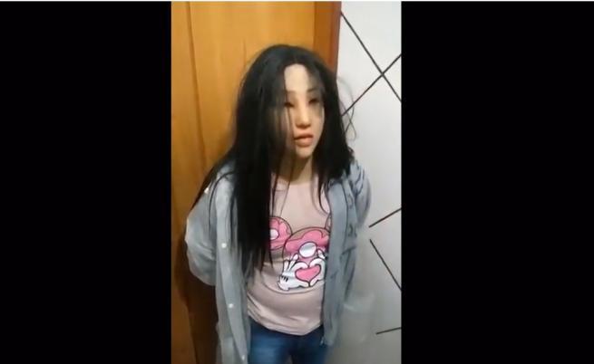Наркодилър се маскира като тийнейджърка за бягство от завтора