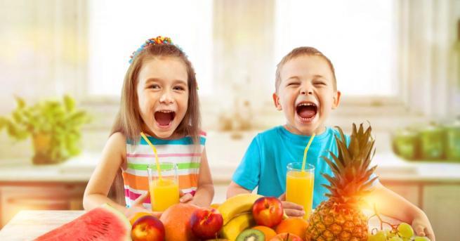 Повечето родители нямат идея какво трябва да ядат децата им