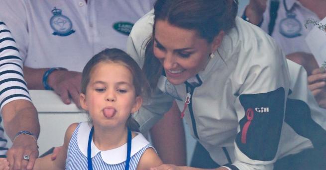 Дъщерята на принц Уилям - принцеса Шарлот, тръгва на детска