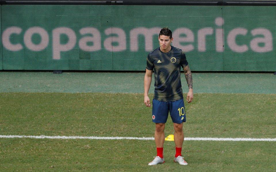 Хамес получи своя номер за новия сезон в Реал Мадрид