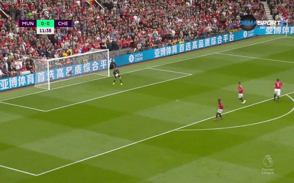 Манчестър Юнайтед се прибра с актив от един гол срещу