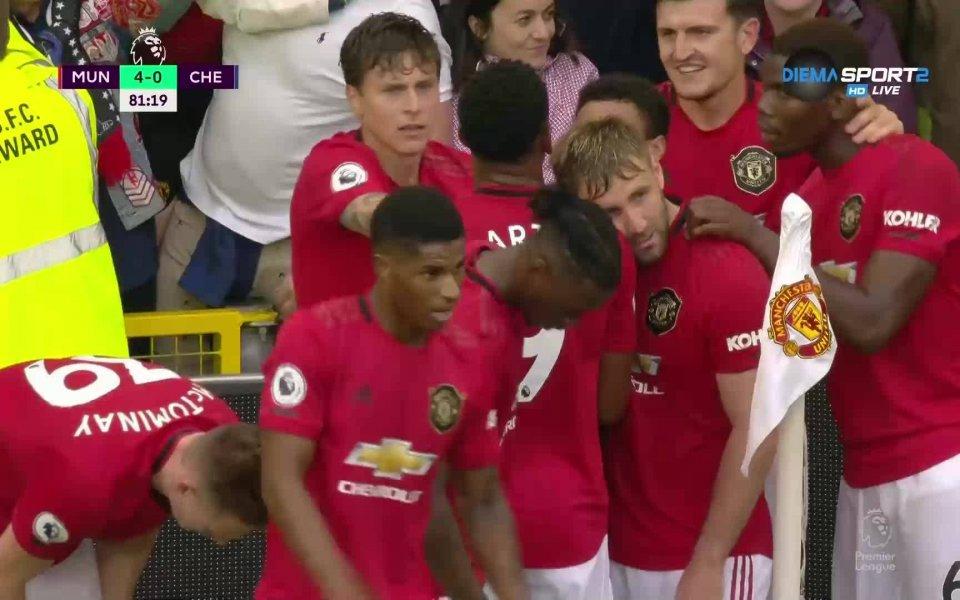 Влезлият като резерва нов футболист на Юнайтед Даниел Джеймс се