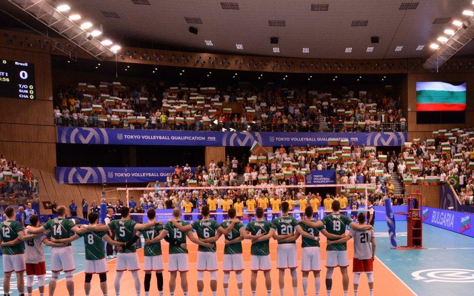 Един от играчите на националния отбор по волейбол Мартин Атанасов