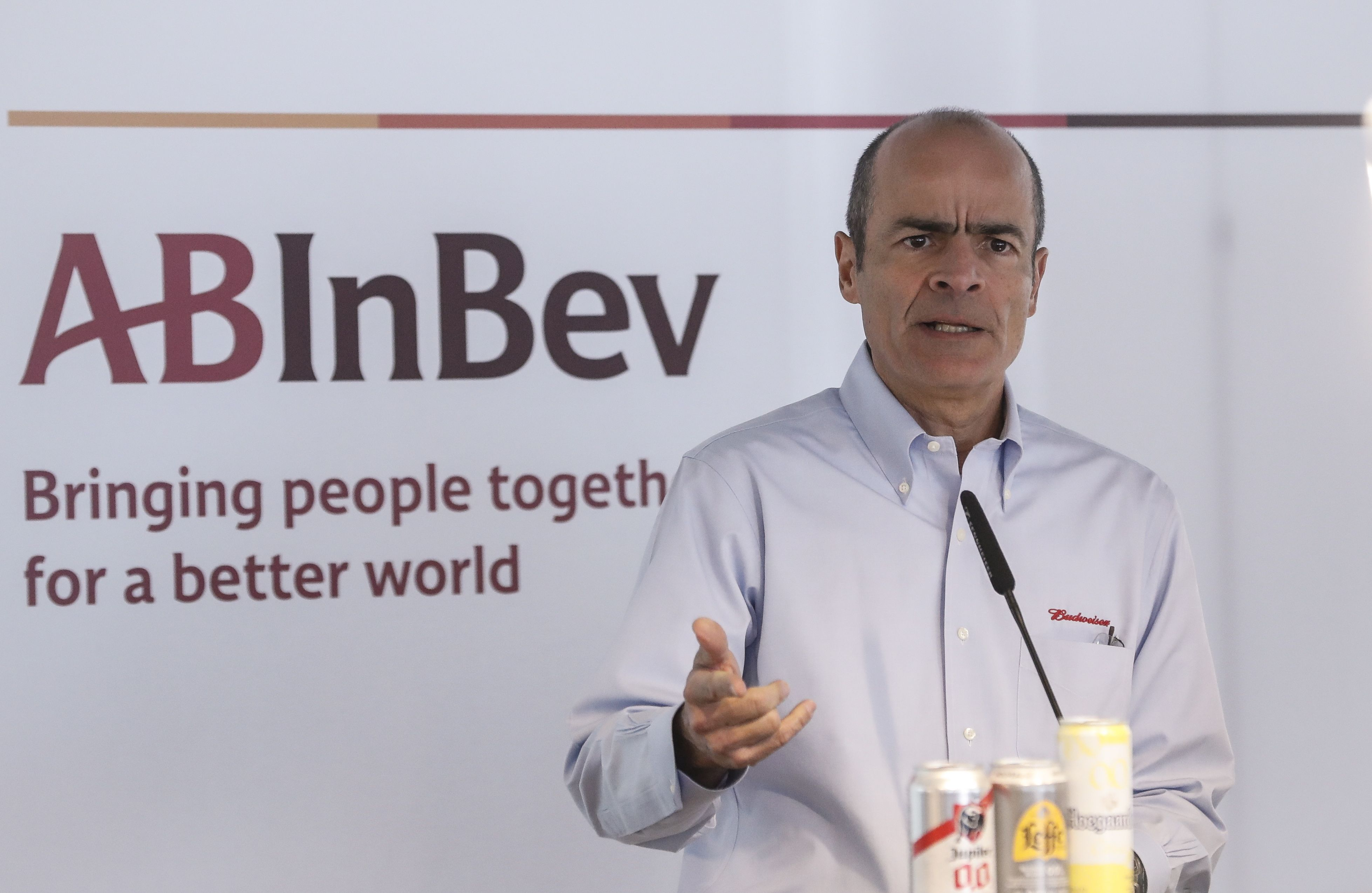 Te притежаваt 52,9 милиарда долара. На снимката: Карлос Брито, главен изпълнителен директор на Anheuser-Busch InBev.