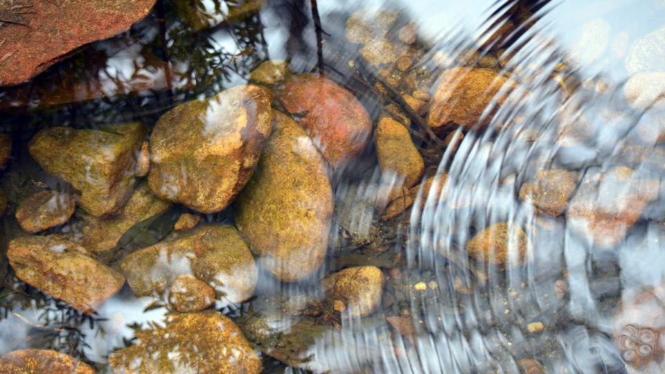 скална вода