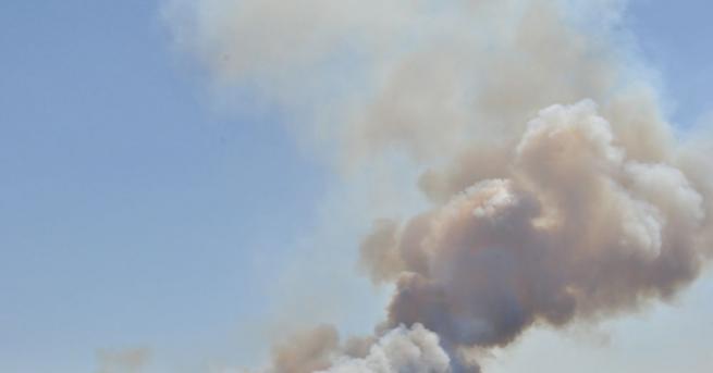 Общо 8 хиляди декара обхванаха пламъцитекрай хасковските села Брягово, Любеново