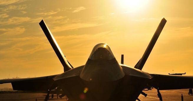 Съединените щати са отработили бързото прехвърляне на модерните изтребители Ф-35
