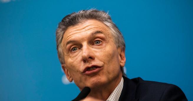 Аржентинският президент Маурисио Макри обяви увеличение на заплатите и намаляване