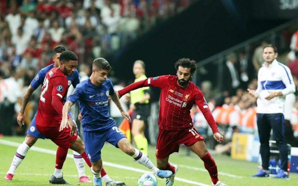 Ливърпул и Челси играят при резултат 0:1в мачаза Суперкупата на