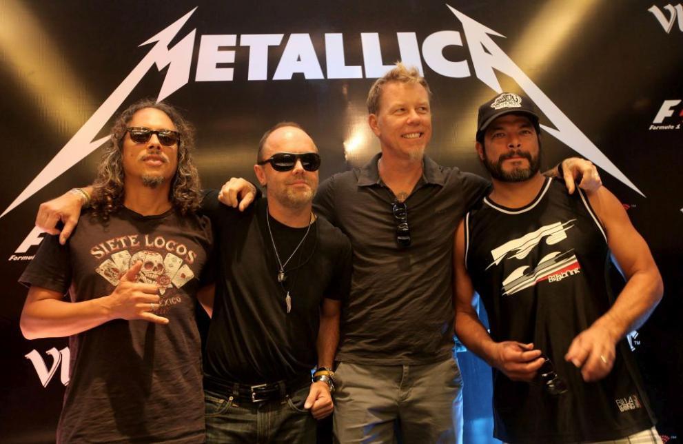 """Резултат с изображение за метъл-групата """"Металика""""."""