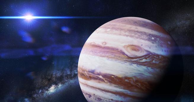 """Сондата """"Juno"""" изучава състава, гравитацията и магнитното поле на планетата,"""