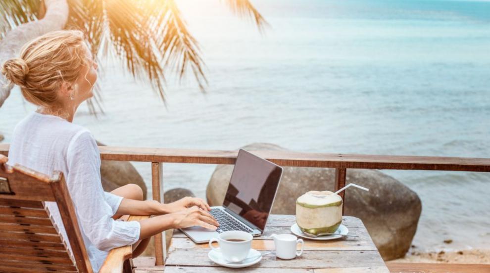 Мислите ли за работа по време на отпуск?