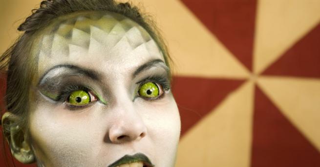 Жената-дракон Таямат Лиджън Медуза е похарчила73 хиляди долара за телесни