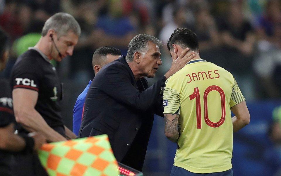По всичко личи, че Хамес Родригес ще остане в Реал