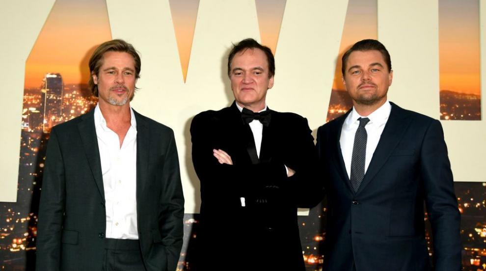 Новият златен триъгълник в киното: Тарантино, Пит и Ди Каприо