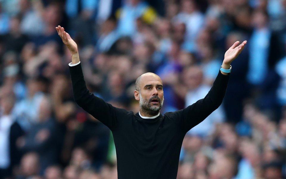 Мениджърът на Манчестър Сити Пеп Гуардиола остана изключително доволен от
