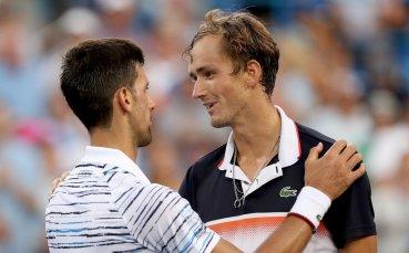 Медведев изненада Джокович за финал в Синсинати