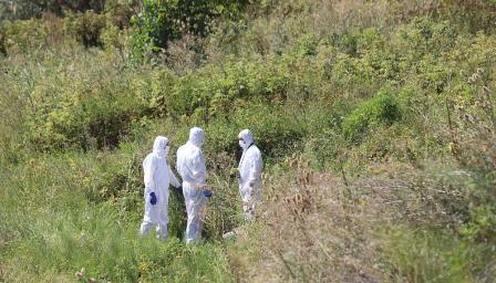 Откриха човешки останки от две тела край село Негован (СНИМКИ/ВИДЕО)