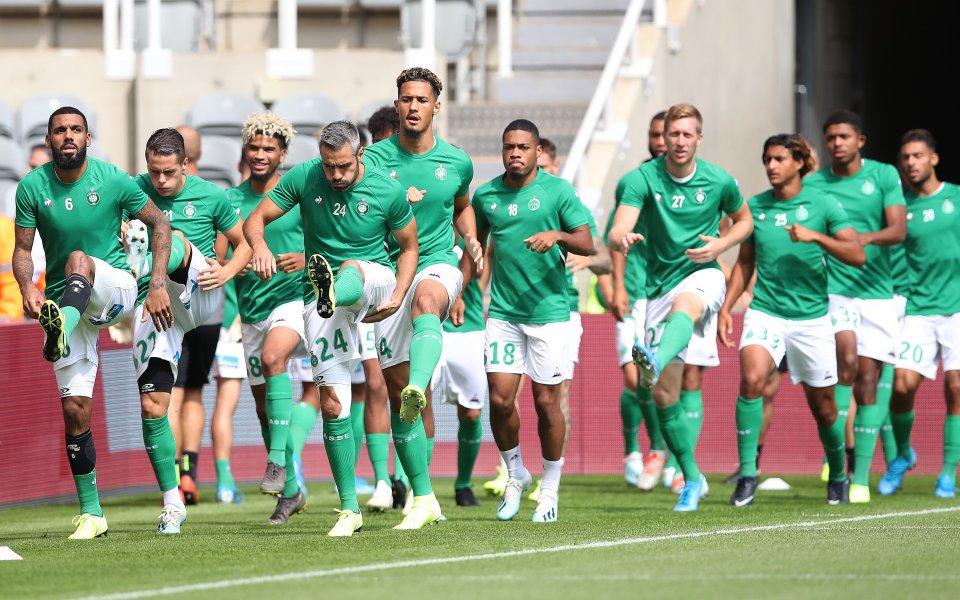 Най-титулуваният отбор във вътрешния шампионат на Франция Сент Етиен стигна