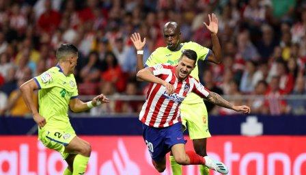 Атлетико тръгна с труден успех срещу коравия Хетафе