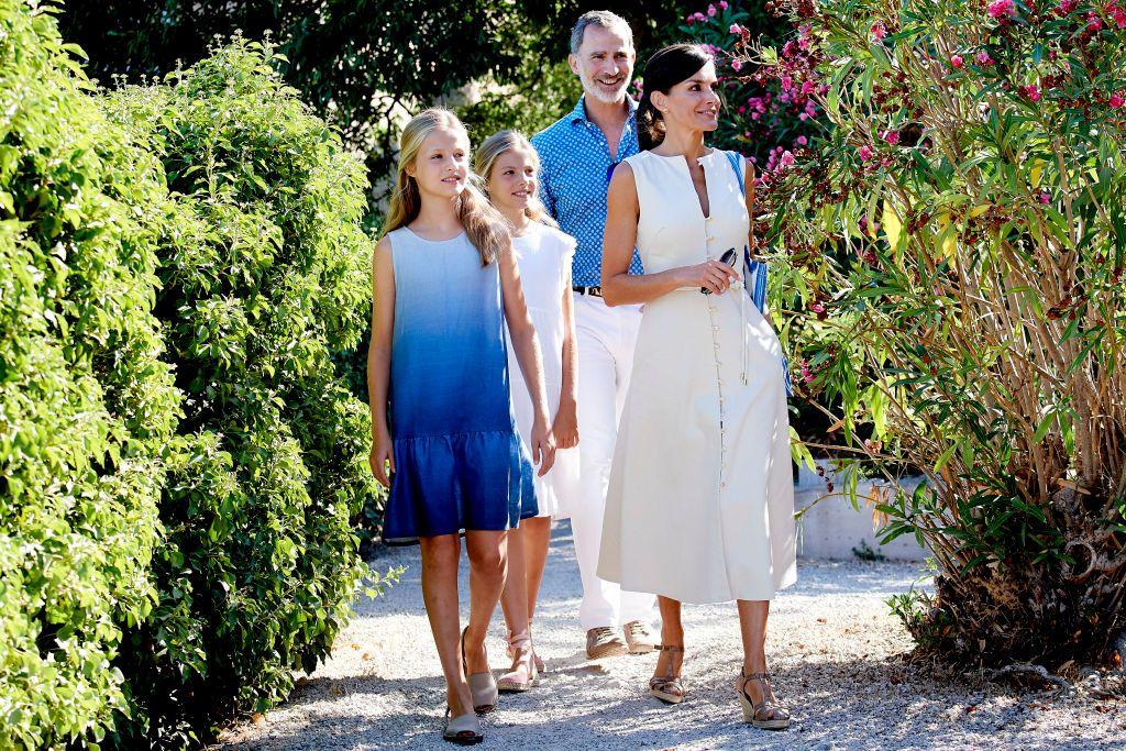 Лятната приказка на испанското кралско семейство