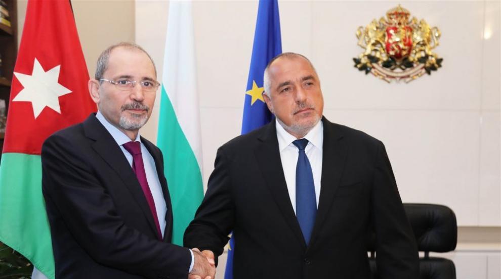Бойко Борисов се срещна с министъра на външните работи на Йордания