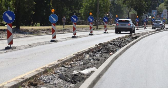 Разкопаването на наскоро ремонтиран тротоар в София предизвика възмущение на