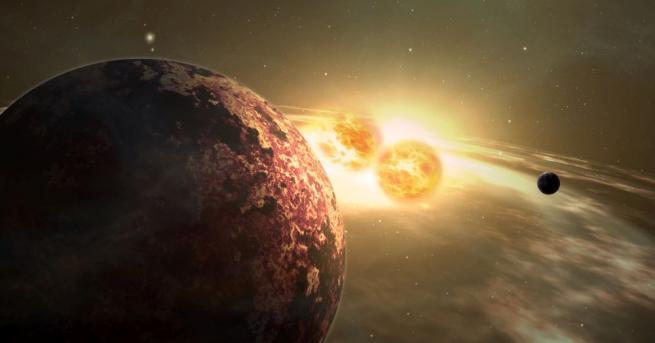 Астрономи наблюдаваха пряко с телескоп на НАСА скалиста екзопланета, голяма