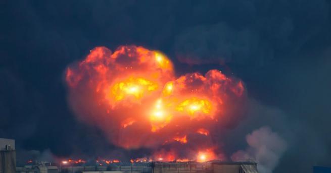 Експлозия разтърси оръжеен склад на свързана с Иран милиция северно