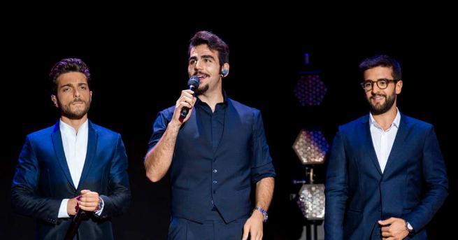"""Снимка: Огромен интерес към новите """"трима тенори"""" малко преди концертите им в България"""