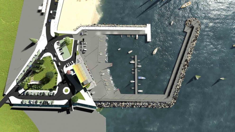 Рибарското пристанище в Аспарухово