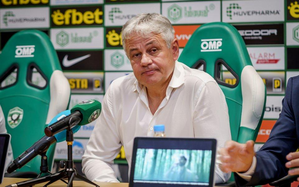 Старши треньорът на Лудогорец Стойчо Стоев бе уволнен след нулевото