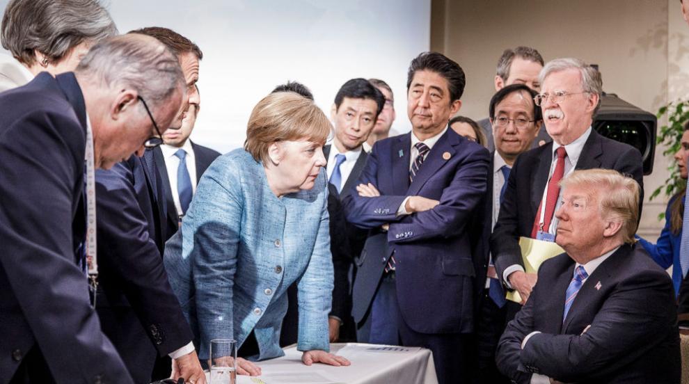 Германия е против връщането на Русия в Г-8