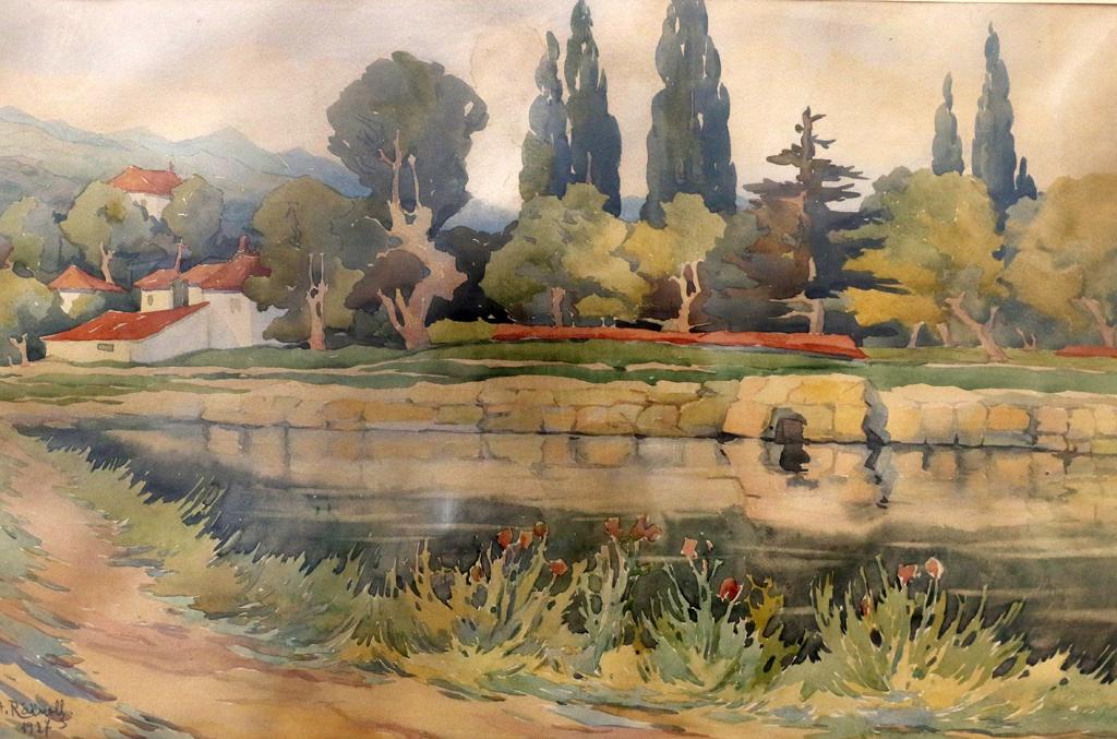 <p>Пейзаж 1927г.</p>