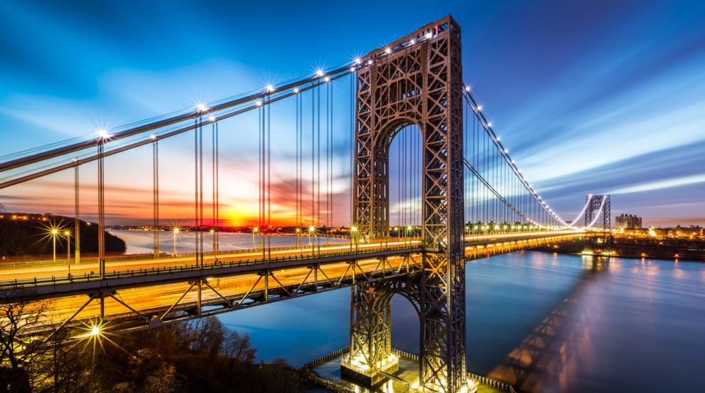 "Затвориха моста ""Джордж Вашингтон"" в Ню Йорк заради бомбена заплаха"