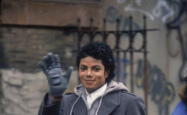 Майкъл Джексън през 1987 г