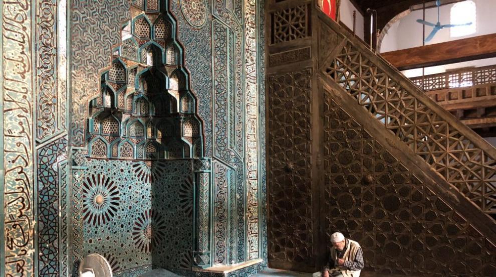 Откриха най-голямата джамия в Европа (СНИМКИ/ВИДЕО)