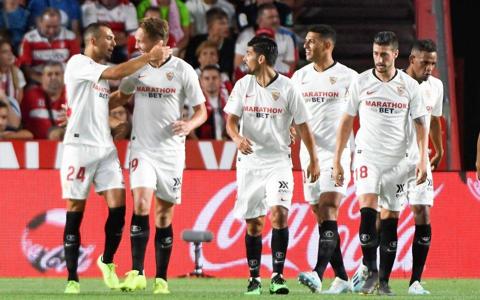 """Севиля излезе начело в Ла Лига след втора """"суха"""" мрежа"""