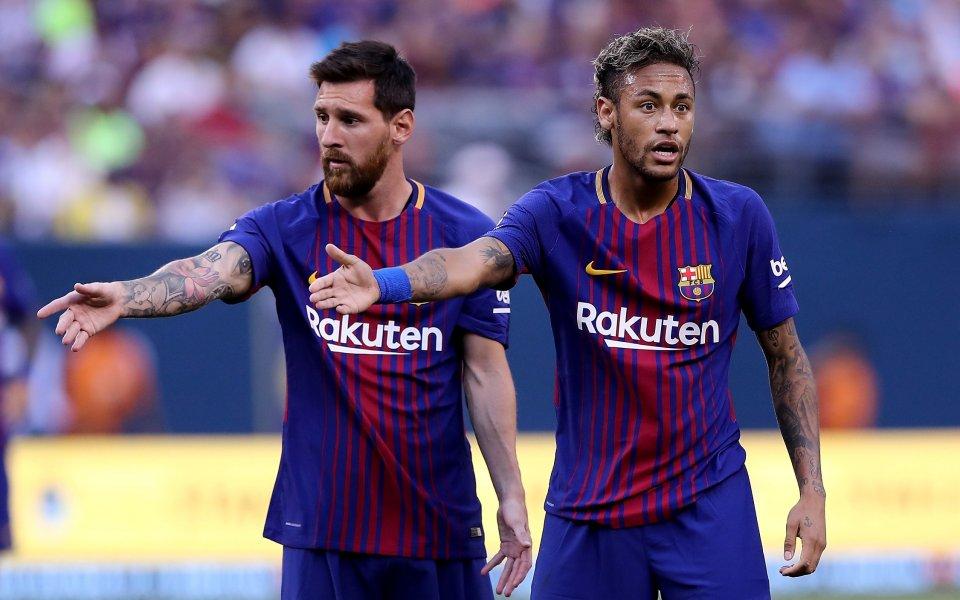 Звездата на Барселона Лионел Меси е един от лидерите в