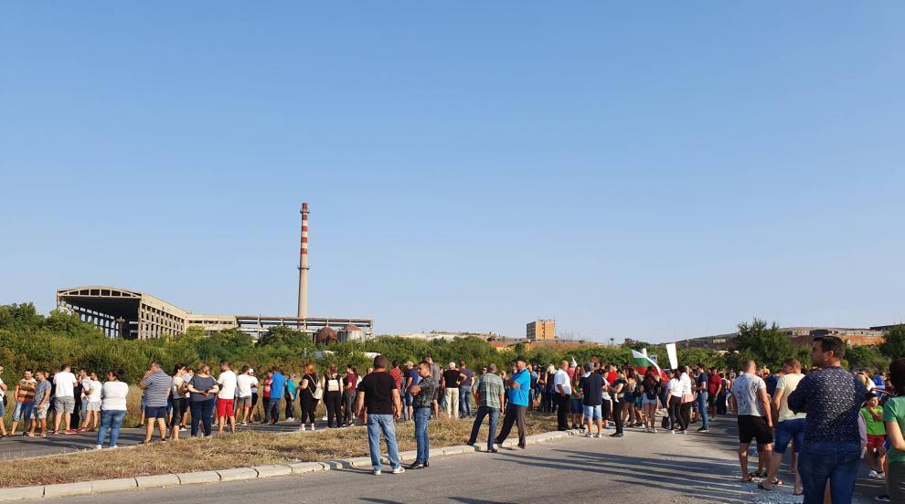 Местните жители на Шишманци искат обезопасяване на завода за отпадъци