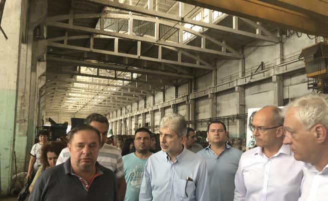 Протест в Шишманци, ще има глоба за завода