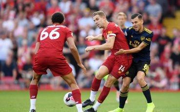 Анализ: Защо Арсенал отново беше отнесен от Ливърпул на Анфийлд?