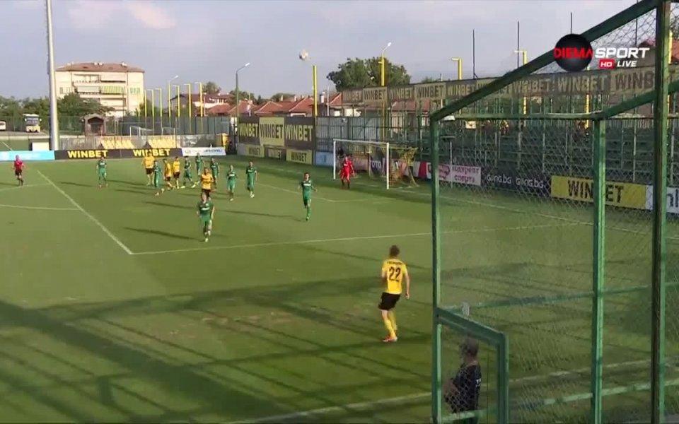 Ботев Пловдив постигна втората си победа през сезон 2019/2020 в