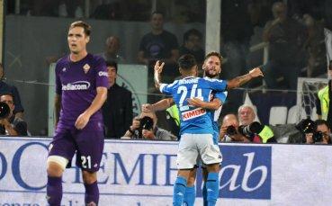 Фиорентина падна сломен в головия катаклизъм срещу Наполи